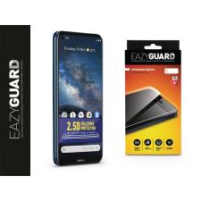 Eazyguard Nokia 8.3 gyémántüveg képernyővédő fólia - Diamond Glass 2.5D Fullcover - fekete mobiltelefon kellék