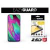 Eazyguard Samsung A405F Galaxy A40 gyémántüveg képernyővédő fólia - Diamond Glass 2.5D Fullcover - fekete