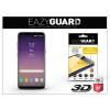 Eazyguard Samsung G955F Galaxy S8 Plus gyémántüveg képernyővédő fólia - Diamond Glass 3D Fullcover - fekete