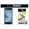 Eazyguard Samsung J330F Galaxy J3 (2017) gyémántüveg képernyővédő fólia - Diamond Glass 2.5D Fullcover - fekete