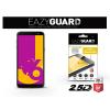 Eazyguard Samsung J600F Galaxy J6 (2018) gyémántüveg képernyővédő fólia - Diamond Glass 2.5D Fullcover - fekete