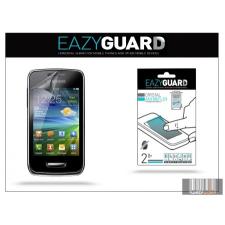 Eazyguard Samsung S5380 Galaxy Wave Y képernyővédő fólia - 2 db/csomag (Crystal/Antireflex) mobiltelefon kellék