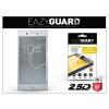 Eazyguard Sony Xperia XZ (F8331)/Sony Xperia XZs (G8231/G8232) gyémántüveg képernyővédő fólia - Diamond Glass 2.5D Fullcover - szürke