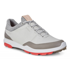 Ecco Golf Biom Hybrid 3 Concrete/Scarlet 40