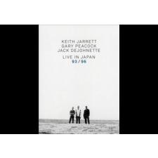 ECM Keith Jarrett, Gary Peacock, Jack DeJohnette - Live in Japan 93 / 96 (Dvd) jazz