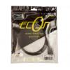 Econ HDMI-HDMI Kábel 1m 1.4 Kompatibilis Aranyozott E-509