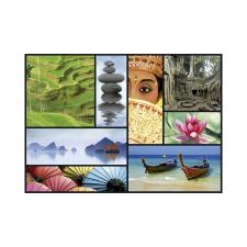 Educa Ázsia színei puzzle, 1000 darabos puzzle, kirakós