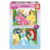 Educa Disney Hercegnők puzzle, 2x20 darabos puzzle