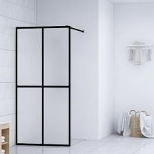 Edzett üveg zuhanyfal 100 x 195 cm fürdőszoba kiegészítő