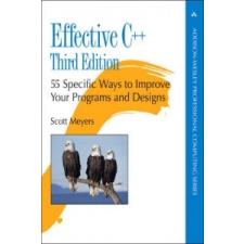 Effective C++ – Scott Meyers idegen nyelvű könyv