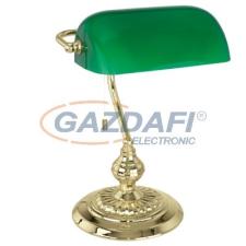 EGLO 90967 Asztali 1x60W E27 réz/zöld Banker 13953 világítás