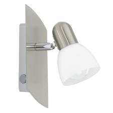 EGLO 90982 ENEA beltéri spot lámpa, matt nikkel színben, MAX 1X25W teljesítménnyel, E14 foglalattal, billenő kapcsoló, IP20 védettséggel ( EGLO 90982 ) világítás