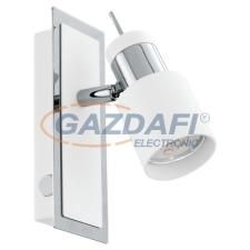 EGLO 92084 LED-es fali GU10 1x5Wkróm/fehér Davida világítás