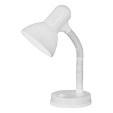 EGLO 9229 BASIC beltéri asztali lámpa, fehér színben, MAX 1X40W teljesítménnyel, E27-es foglalattal, billenő kapcsolóval, IP20 védettséggel ( EGLO 9229 ) világítás