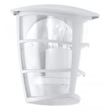 EGLO 93403 ALORIA kültéri fali lámpa, fehér színben, MAX 1X60W teljesítménnyel, E27-es foglalattal, kapcsoló nélkül, IP44 védettséggel ( EGLO 93403 ) kültéri világítás