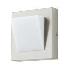 EGLO 94114 CALGARY 1 kültéri LED fali lámpa, nemesacél színben, MAX 1X3,7W teljesítménnyel, LED fényforrással, 3000K színhőmérséklettel, kapcsoló nélkül, IP44 védettséggel ( EGLO 94114 ) kültéri világítás