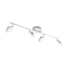 EGLO 95632 SALTO beltéri LED-es spot lámpa, króm színben, MAX 4X5,4W teljesítménnyel, LED fényforrással ( nem cserélhető ), 3000K színhőmérséklettel, kapcsoló nélkül, IP20 védettséggel ( EGLO 95632 ) világítás