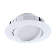 EGLO 95854 PINEDA süllyesztett LED lámpa, fehér színben, MAX 1X6W teljesítménnyel, LED fényforrással ( cserélhető), 3000K színhőmérséklettel, kapcsoló nélkül, IP20 védettséggel ( EGLO 95854 ) világítás