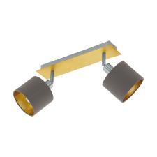 EGLO 97537 VALBIANO beltéri spot lámpa, csiszolt réz, matt nikkel színben, MAX 2X10W teljesítménnyel, E14 foglalattal, kapcsoló nélkül ( EGLO 97537 ) világítás