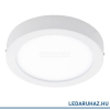 EGLO Argolis - 96491 - kültéri mennyezeti lámpa, alumínium, fehér, beépített LED, IP44, 225 mm átmérő