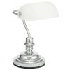 """EGLO Asztali lámpa, 60 W, """"Banker"""", fehér"""