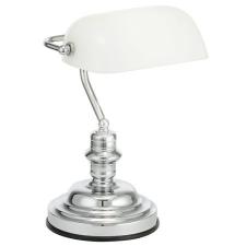 """EGLO Asztali lámpa, 60 W, """"Banker"""", fehér világítás"""