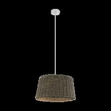 EGLO Függeszték E27 1x60W51cm barna Dovenby világítás