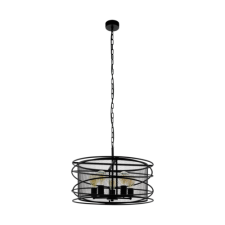 EGLO Függeszték E27 5x60W fekete Blackwater világítás