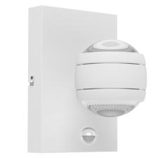 EGLO Kültéri fali lámpa LED-es 2X3,7W szenzoros IP44 fehér - Sesimba1 EGLO kültéri világítás