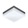 EGLO Kültéri LED-es fali/mennyezeti 8,2W antracit/fehér Sonella