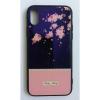 egyéb BH655 Telefon tok BLU-RAY Üveg Full Pink Flower Iphone 5