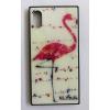 egyéb BH695 Telefon tok BLU-RAY Üveg Bird White Iphone 5
