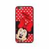 egyéb Disney prémium szilikon tok edzett üveg hátlappal - Minnie 008 Samsung G985 Galaxy S20 Plus (6.7)