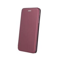 egyéb Forcell Elegance Xiaomi Redmi 7A oldalra nyíló mágneses könyv tok szilikon belsővel burgundi tok és táska