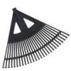 egyéb Lombseprű műanyag 60cm íves fekete NYELEZETT (Lombseprű)