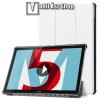 egyéb Notesz / mappa tok - FEHÉR - oldalra nyíló flip cover, TRIFOLD asztali tartó funkciós, mágneses záródás - HUAWEI MediaPad M5 10 (2018) / HUAWEI MediaPad M5 10 Pro (2018)
