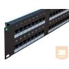 egyéb UTP Cat5e patch panel, 48 portos