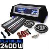 Electronic-Star Auna 2.1 Autó HiFi szett Platin Line 320, erősítő, hangf., subw.