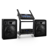 Electronic-Star DJ PA Set Anlage Rack Star Series Venus Bounce Bluetooth