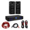 """Electronic-Star HiFi erősítő & hangfal szett, 2 x 250 W erősítő, 2 x hangfal, 6,5"""", 300 W RMS"""