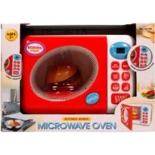 Elemes mikrohullámú süto - fehér-piros konyhakészlet