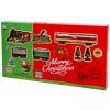 Elemes vonatpálya - karácsonyi hangulatú