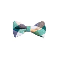 Elite Fashion Ralph Redford Zöld Kockás Csokornyakkendő nyakkendő