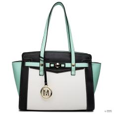 Elle Miss Lulu London LG1640 - Miss Lulu ellentét Winged válltáska kézi táska zöld