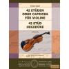 EMB 42 etűd hegedűre