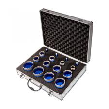 EMIKOO TLS lyukfúró készlet 6-8-10-12-20-25-30-35-35-40-45-55-60-65-68-68 mm - alumínium koffer fúrószár