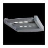 Emithor 70124 - AWAX LED-es kültéri fali lámpa 6xLED/3W ezüst IP54