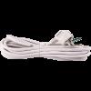 Emos S14323 FLEXO 3X1,5 H05VV-F 3m fehér szerelt kábel