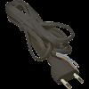 Emos S19273 FLEXO2X0,75 H03VVH2-F 3m fekete szerelt kábel