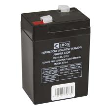 Emos SLA ólomakkumulátor 6V 4Ah F1 (GT6-4) DHB640 autó akkumulátor